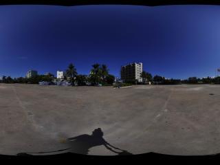 海南海口博鳌-风情广场海洋馆全景