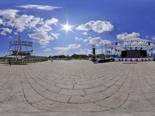 长春文化广场全景