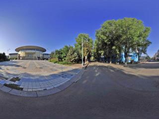 吉林大学前卫校区全景