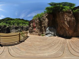 乌龙峡谷虚拟旅游
