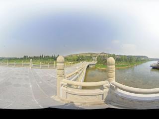 云冈石窟公园景区全景
