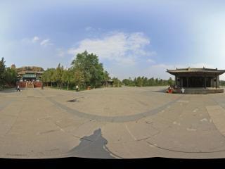 云冈石窟绿地公园广场
