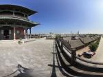 拱极门俯望古城全景