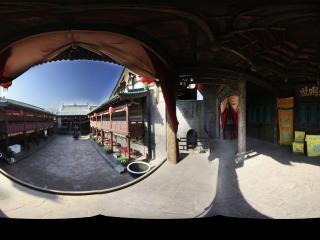 平遥古城戏院全景