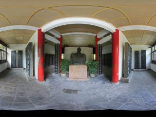 山西—太原碑林公园鼎臣殿全景