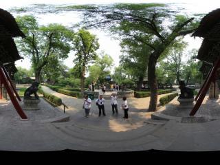 山西太原晋祠博物馆对越坊
