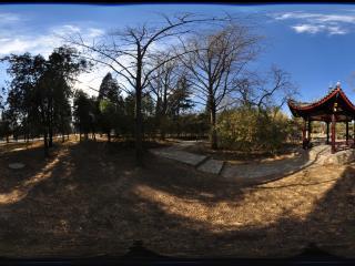 北京陶然亭公园独醒亭全景