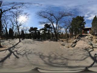 北京陶然亭公园锦秋亭