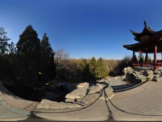 北京陶然亭公园一览亭