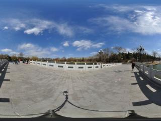 北京陶然亭公园玉虹桥