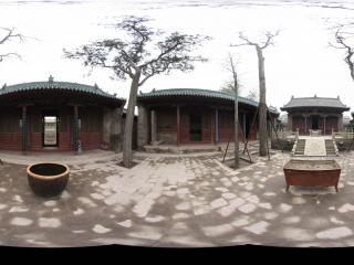 静升文庙大成殿前院