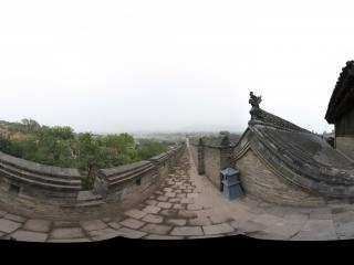 王家大院城墙