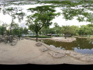 太原迎泽公园园景 NO.23全景