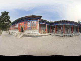 山西民俗博物馆园景
