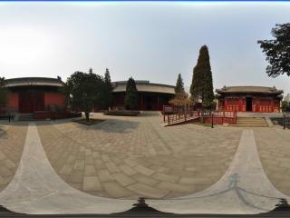 北京大钟寺-战国编钟前院