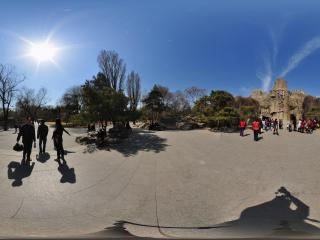 北京动物园-虎狮山