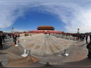 北京天安门 主席像全景