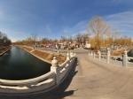 北京 五塔寺 河边全景