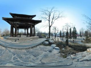 北京 玉渊潭公园 亭子