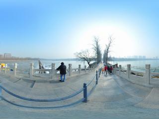 北京 玉渊潭公园 桥