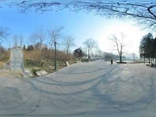 北京 玉渊潭公园 石碑