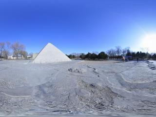 北京丰台世界公园-埃及金字塔全景