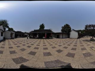 苏州园林 景区内一景全景