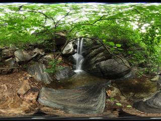 林中仙境密云捧河湾峡谷