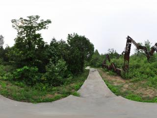 生态旅游首选雁栖湖 道路