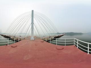 生态旅游首选北京雁栖湖 码头