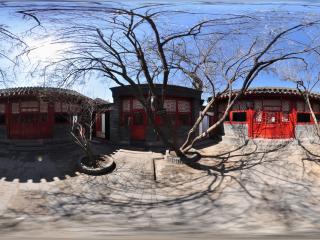 北京鲁迅博物馆鲁迅故居四合院