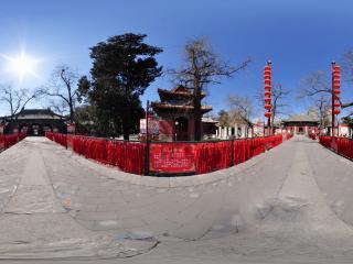 东岳庙祈福