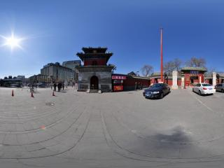 东岳庙大门