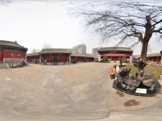 北京宣南文化博物馆雕塑