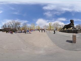 动物园塑像