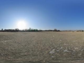 海淀公园天与地的融合