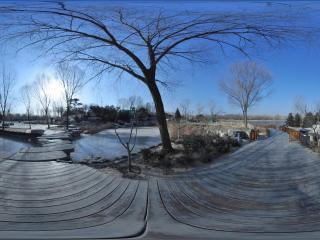 海淀公园独石桥