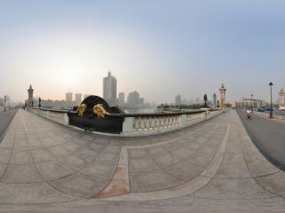 天津北安桥全景