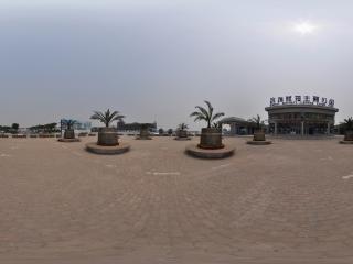 天津滨海航母主题公园全景