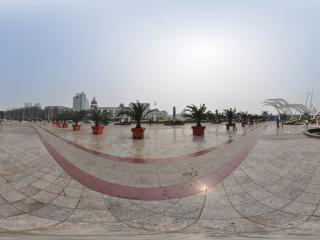 天津塘沽海河外滩公园