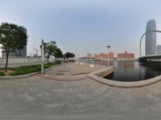 天津第一高度——津塔写字楼全景