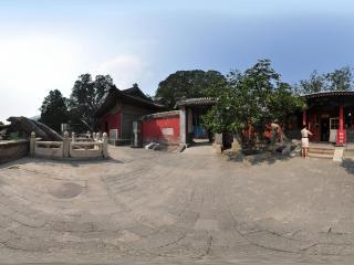 戒台寺 财神殿