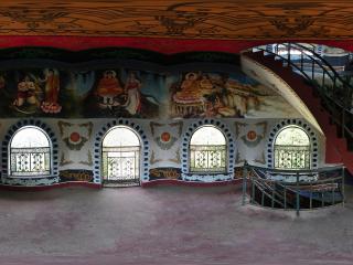 圣莲山 塔内壁画