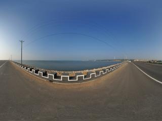葫芦岛滨海大道之夏景
