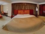 葫芦岛市富都饭店豪华套房之卧室全景