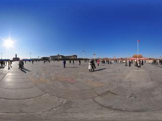 天安门中心广场