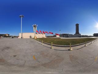 天安门英雄纪念碑西侧