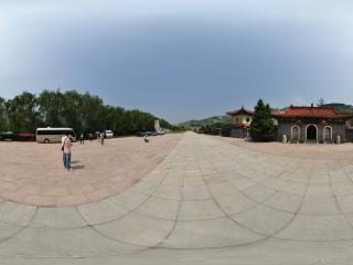 葫芦岛九门口长城全景