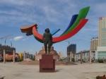 葫芦岛市飞天广场全景