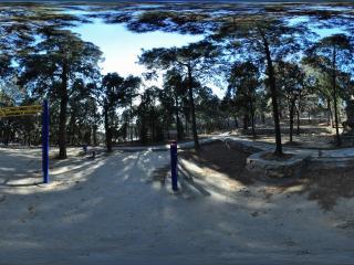 幽静怡然北京八大处 喇嘛墓全景